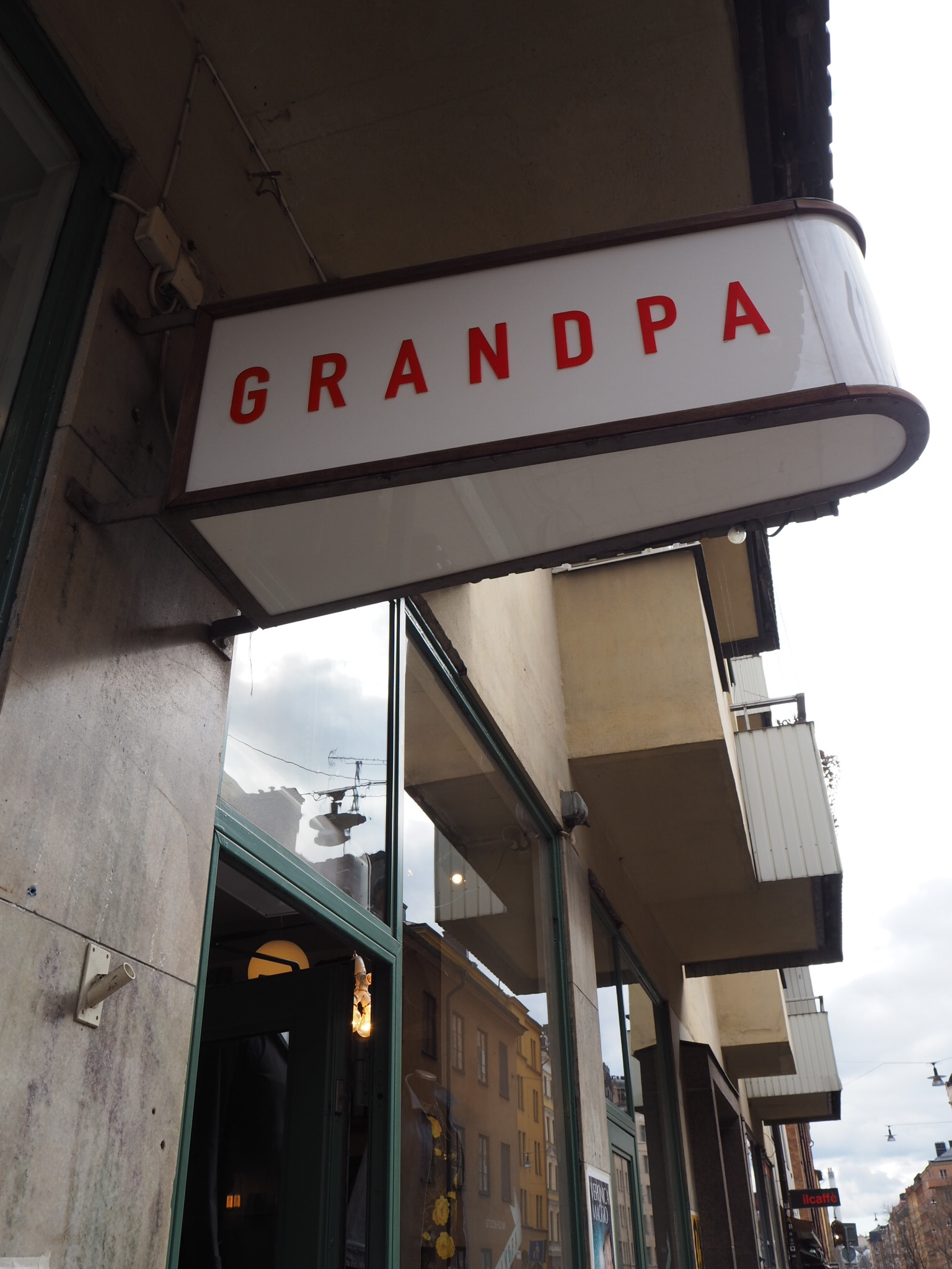 Contemporary homeware/ fashion boutique-  Grandpa, Stockholmm Sweden