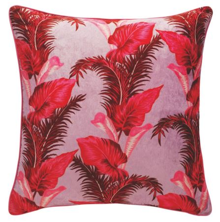 Tropical leaf cushion- Henry x Habitat