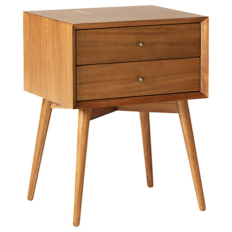 WEST ELM BEDSIDE TABLE £299