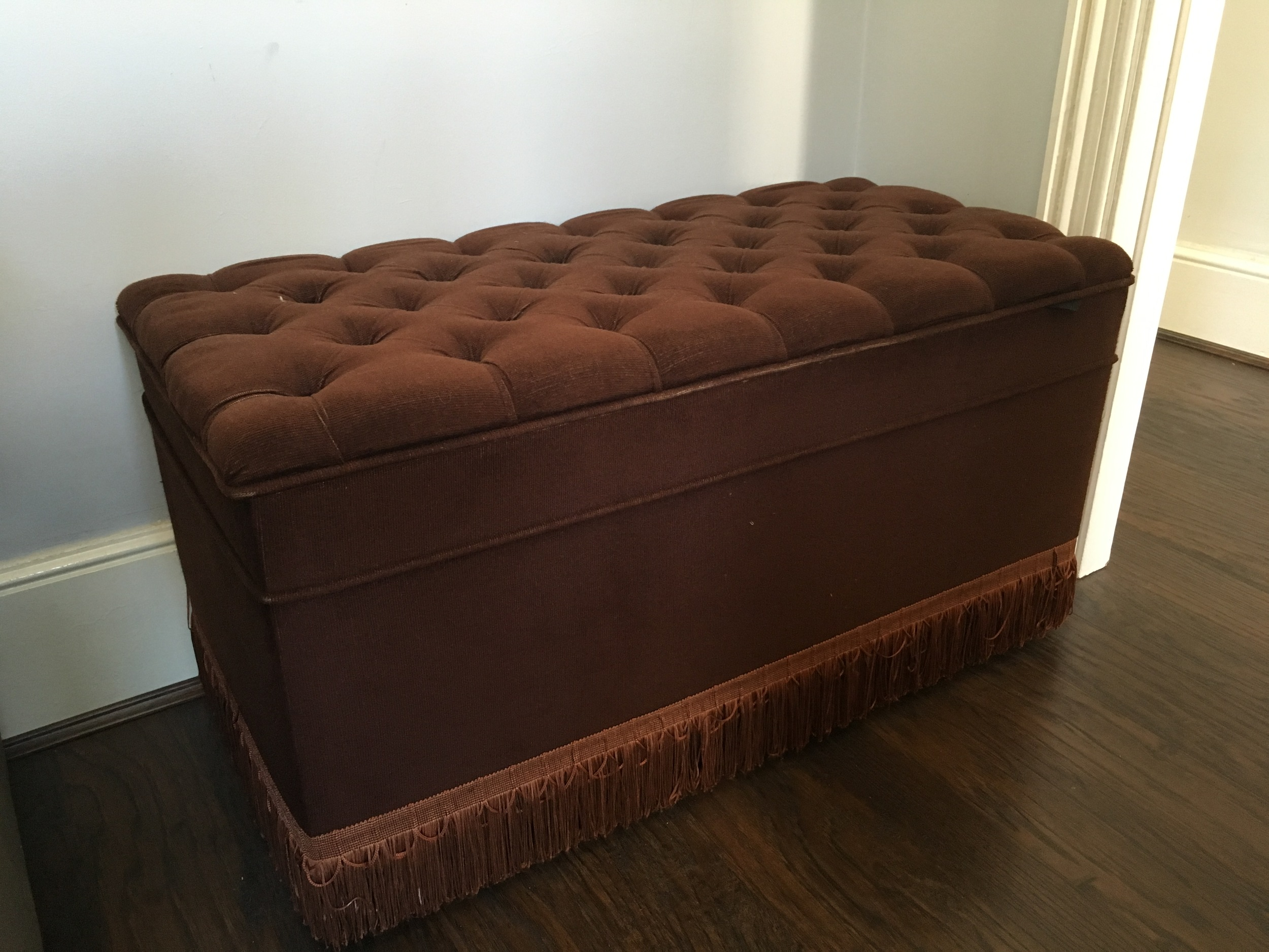 The Original Vintage Ottoman- Purchased for £15.00