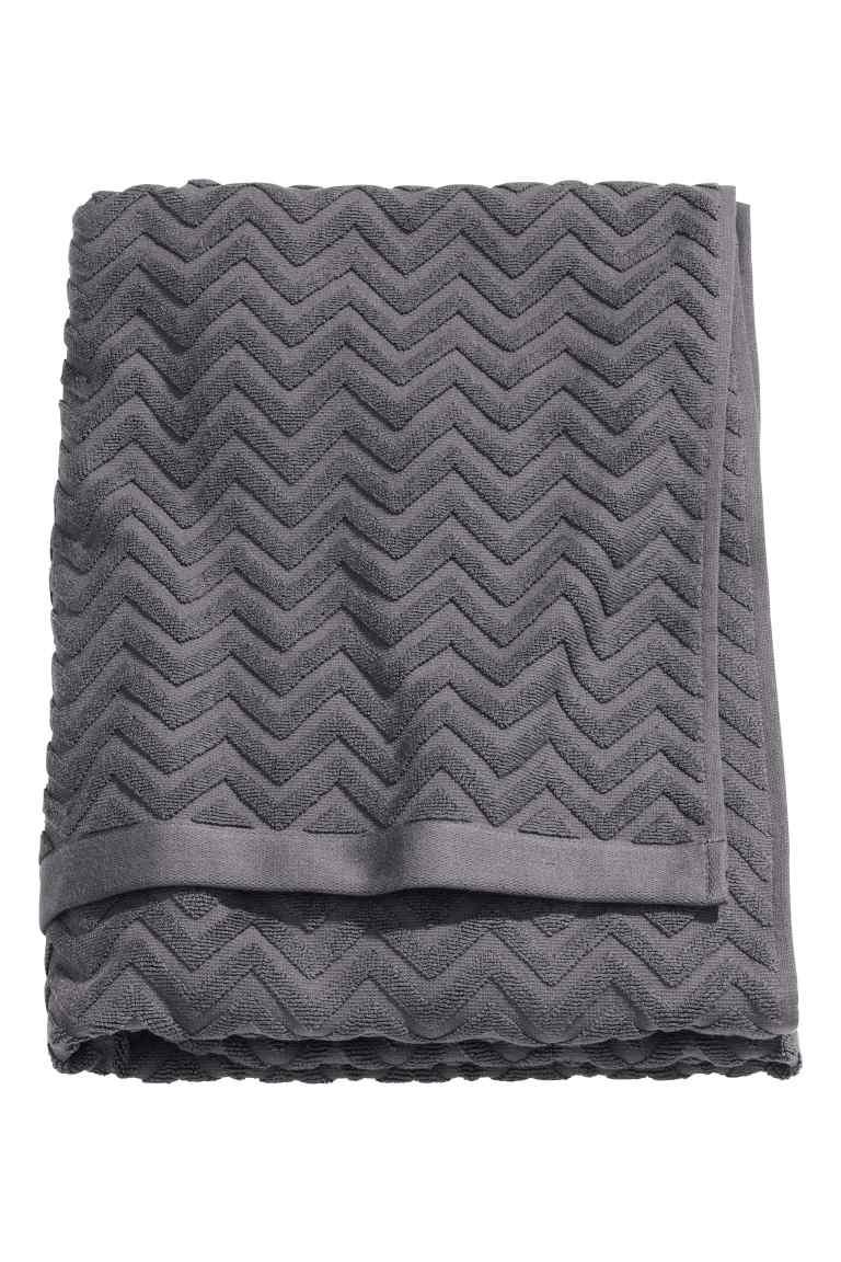H&M JACQUARD BATH TOWEL £12.99