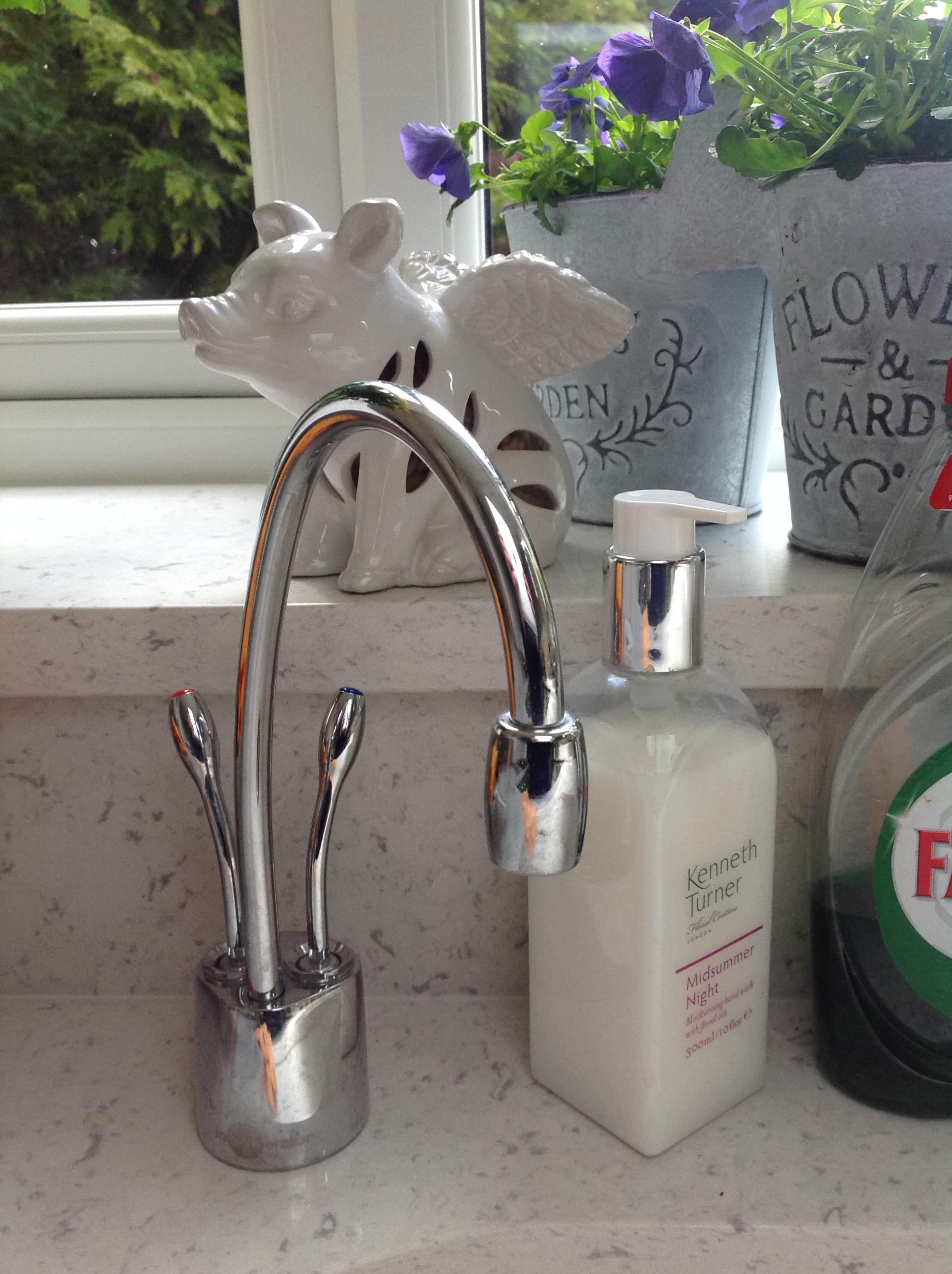 Inskinkerator tap- kitchen rennovation