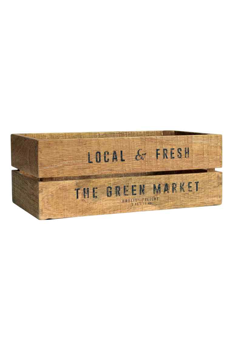 £19.99 LARGE WOODEN BOX