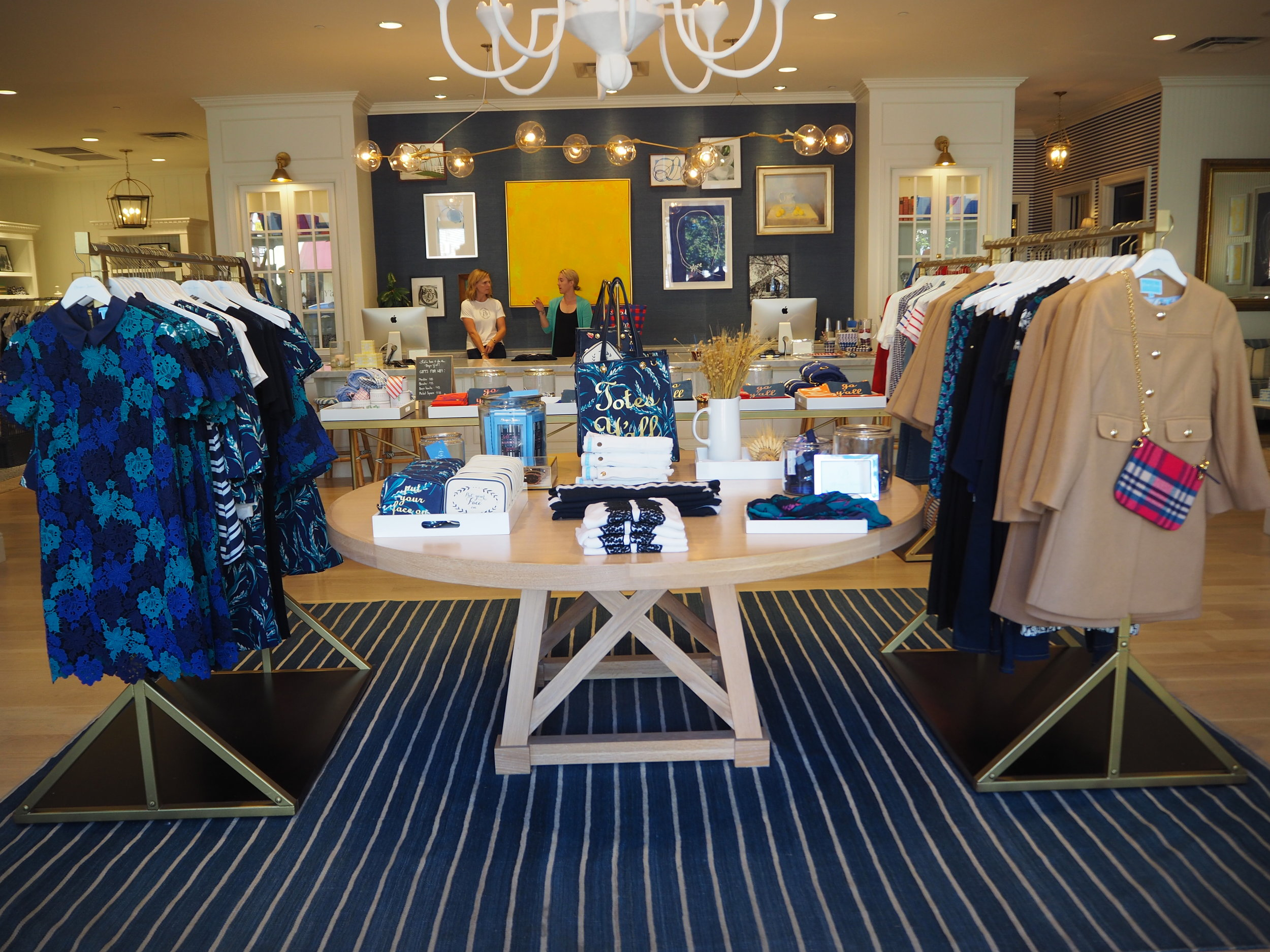 Fashion and homeware at lifestyle brand 'Draper James'  by Reese Witherspoon, in Nashville Tennessee. Click here for more info.
