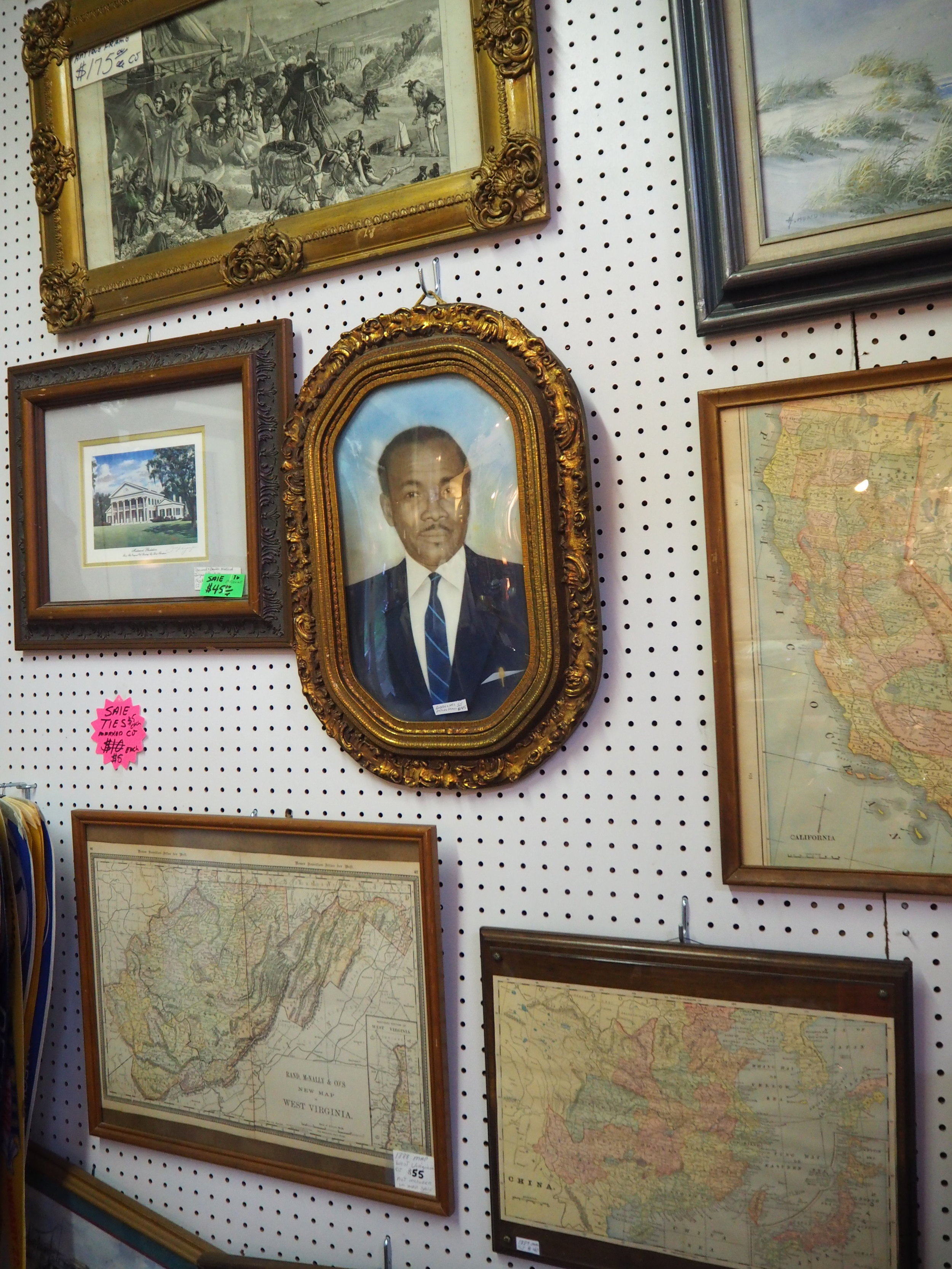 Magazine- Antique Mall in the Garden District of New Orleans.