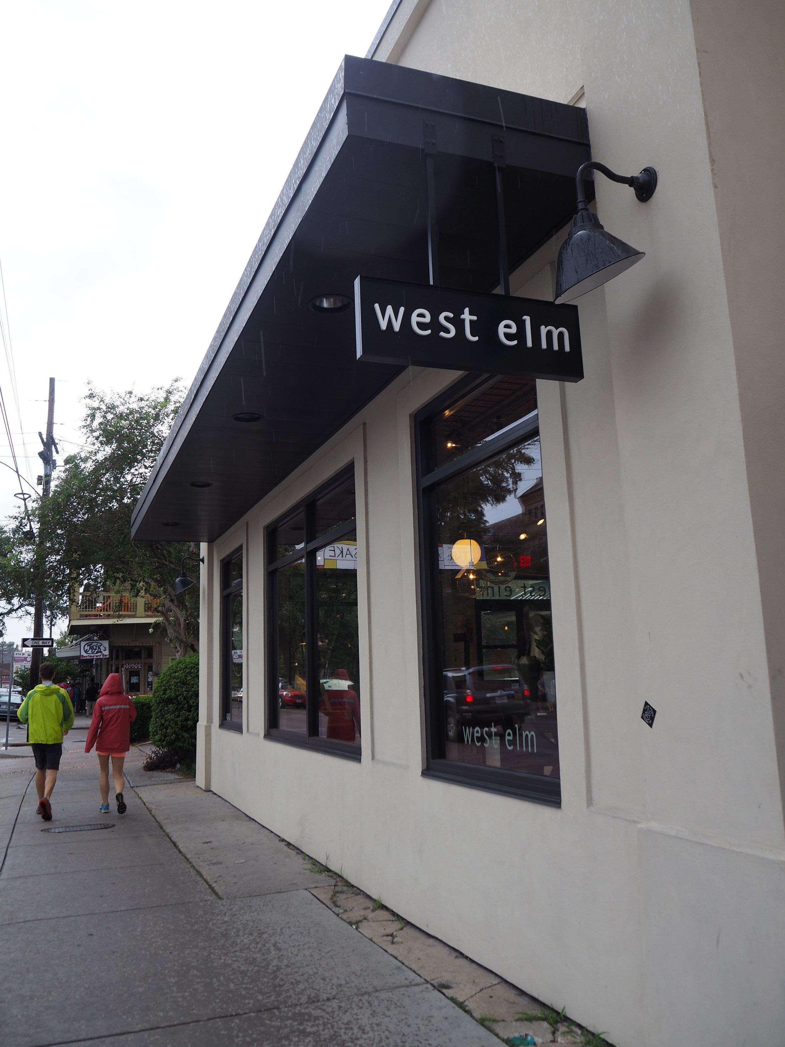 West Elm, Magazine street, New Orleans.