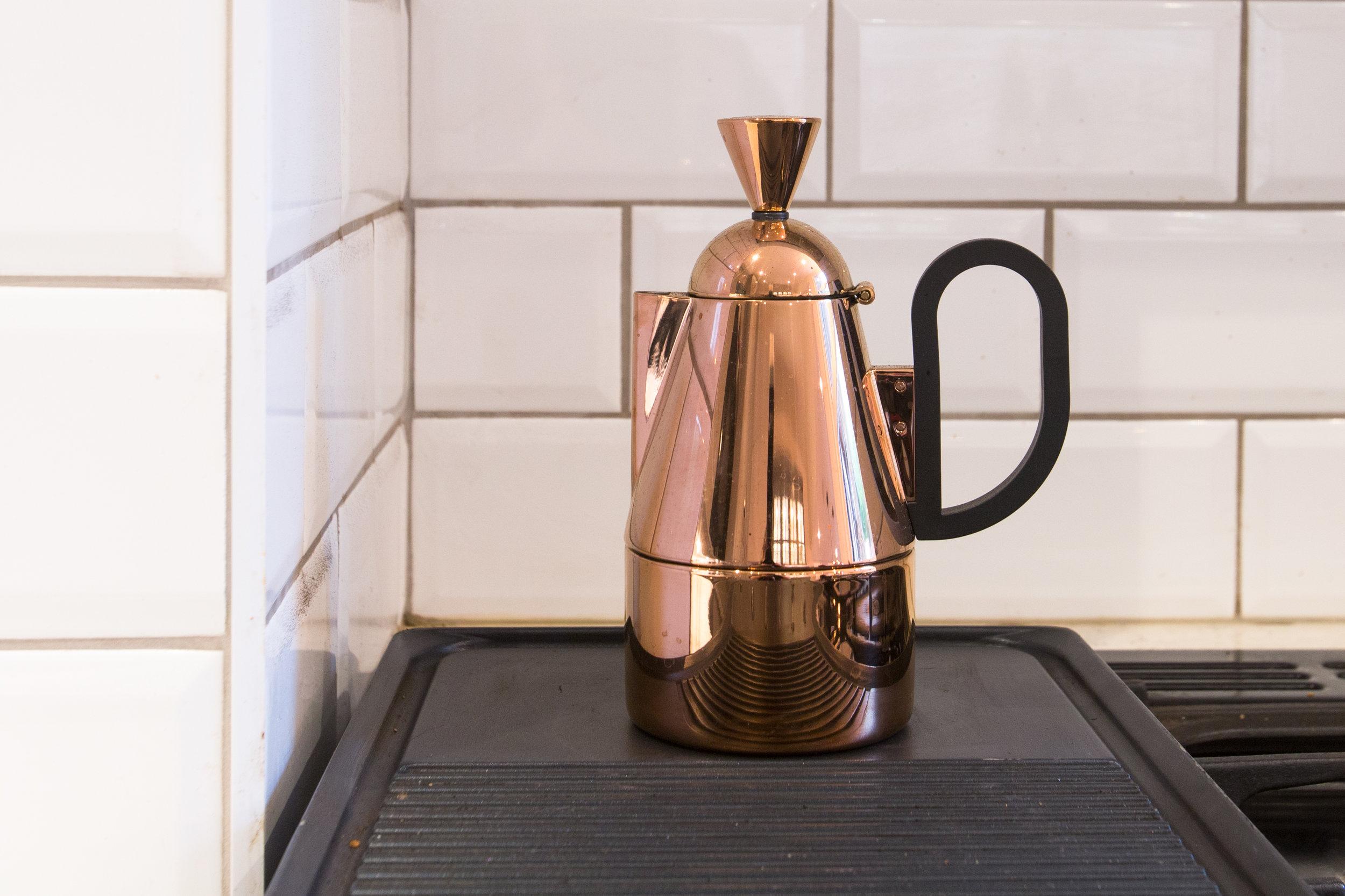 Tom Dixon copper coffee cafetiere