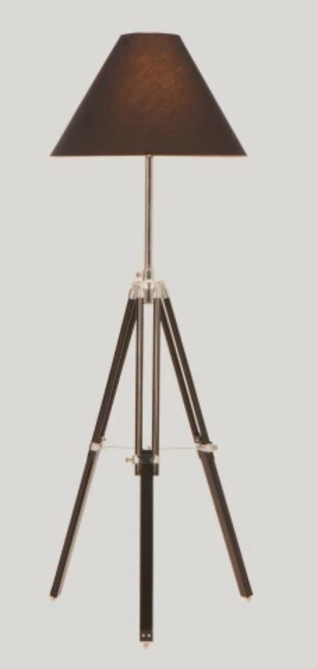 Tripod Navy lamp £99