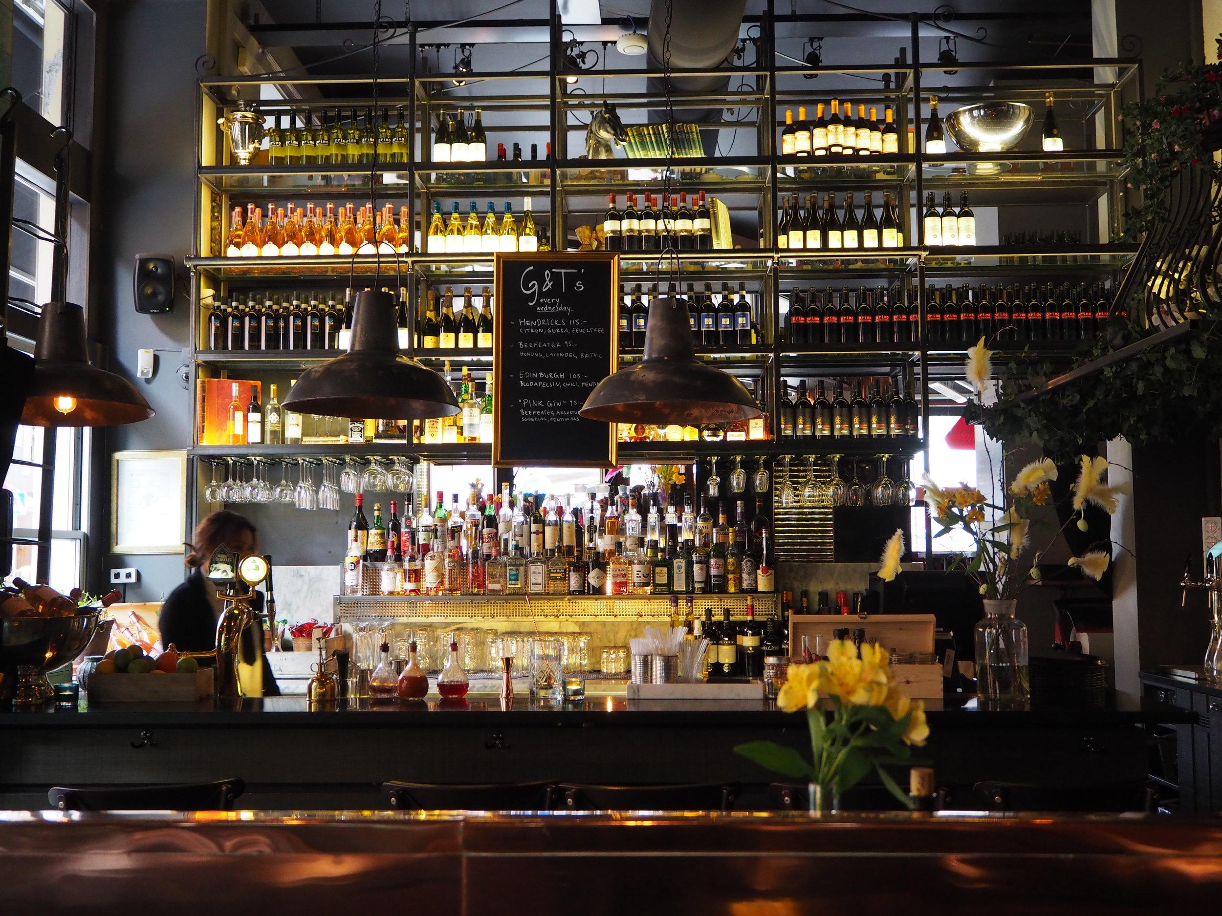 Primo Ciao Ciao's bar. Stockholm restaurant