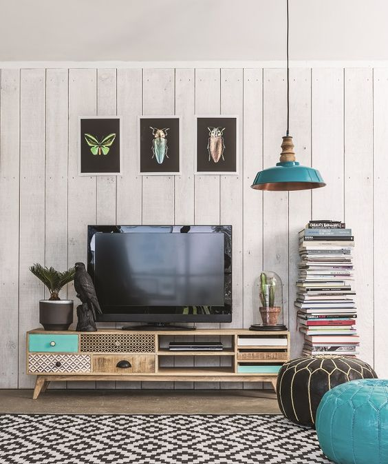 How to style your TV stand.