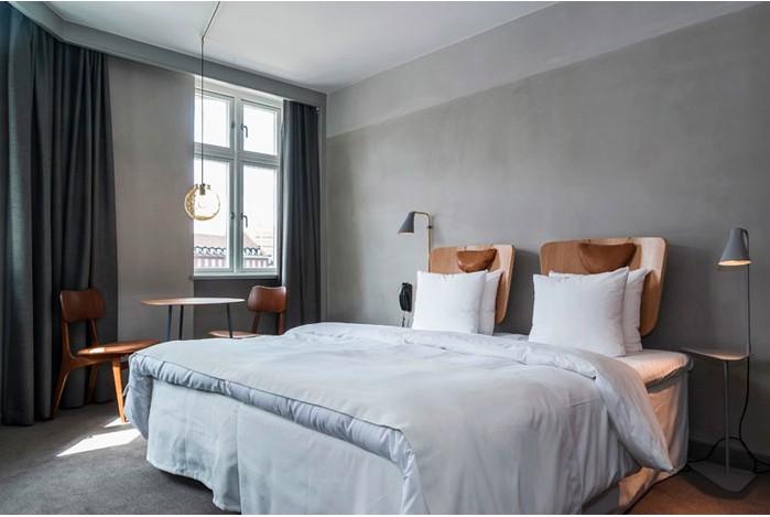 Hotel SP34 in Copenhagen, Denmark.