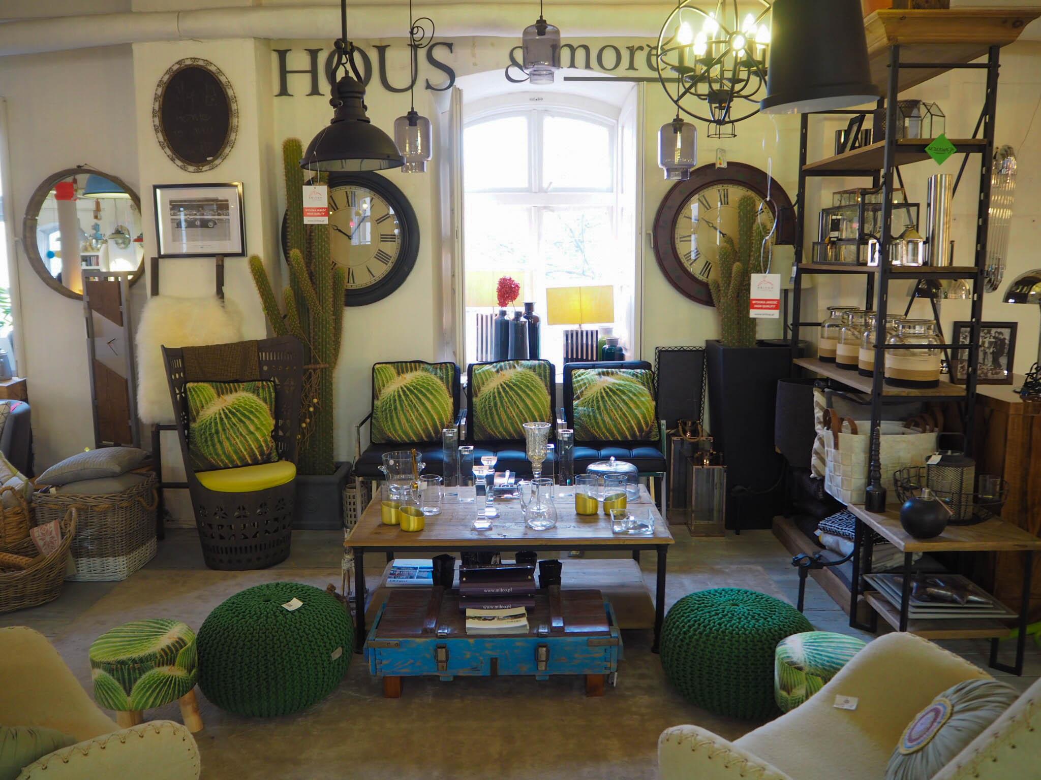 Cactus cushions at Forum Designu in Krakow, Poland.