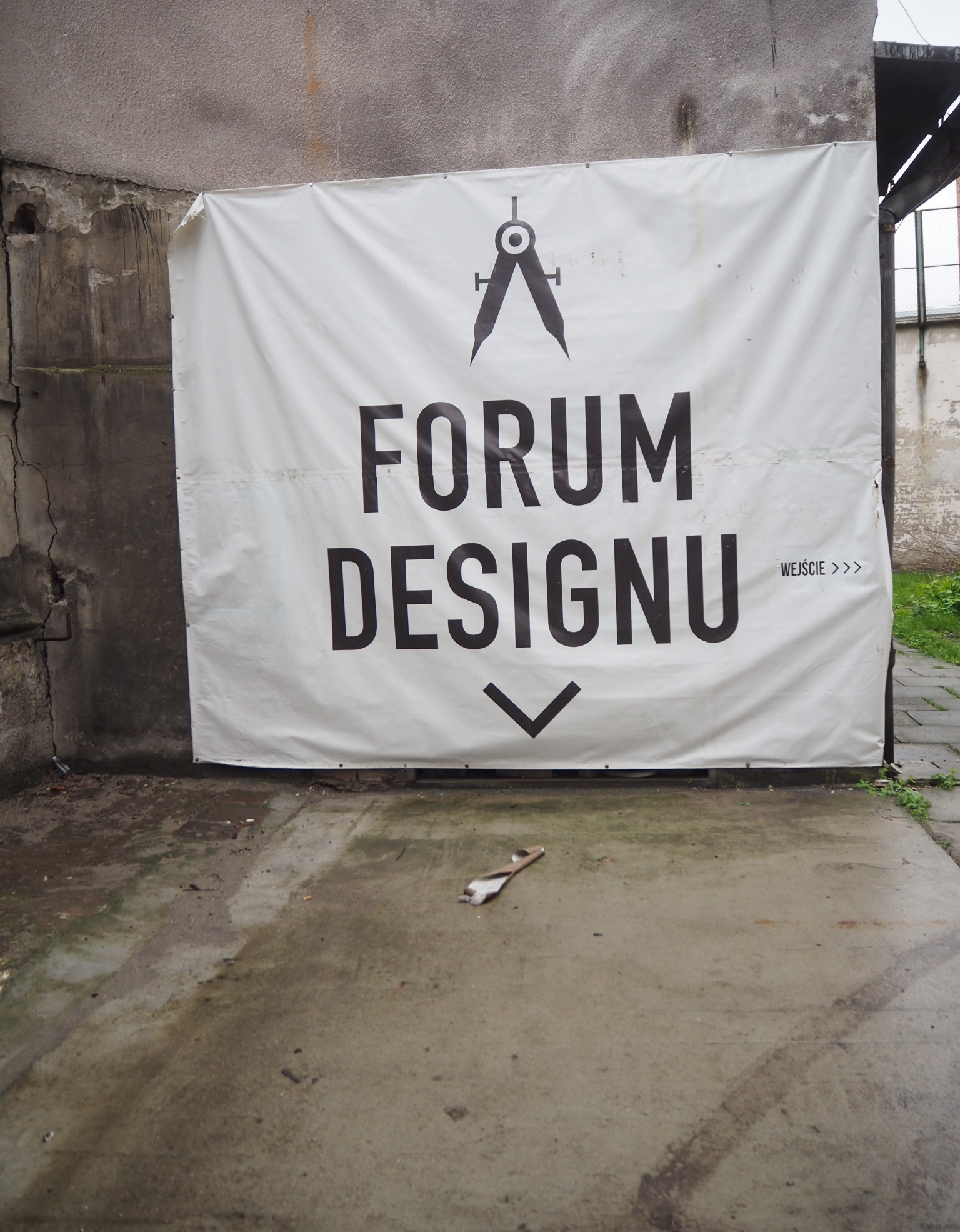 The Forum Designu in an old converted tobacco factory in Krakow.
