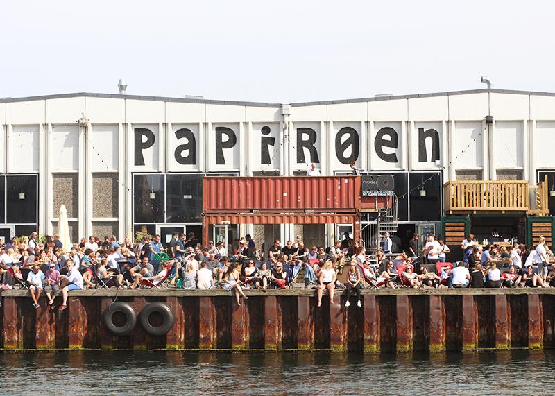 Papiroen street food market, Copenhagen.