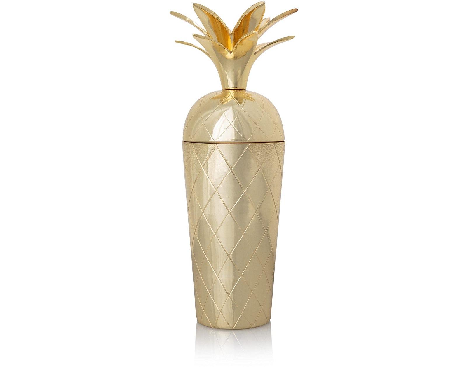 Oliver Bonas Pineapple cocktail shaker £34
