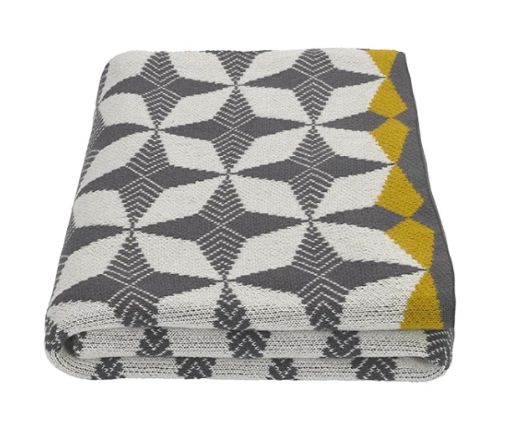 Cotton knit throw - Made.com £55