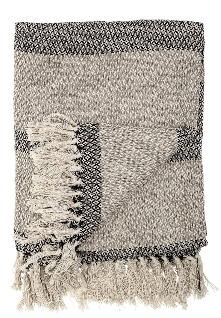 Natural cotton throw - Rocket St George £24