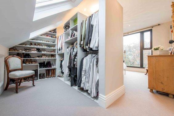 Velux window dressing room