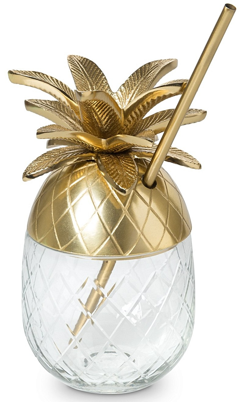 Pineapple gold cocktail cup £26