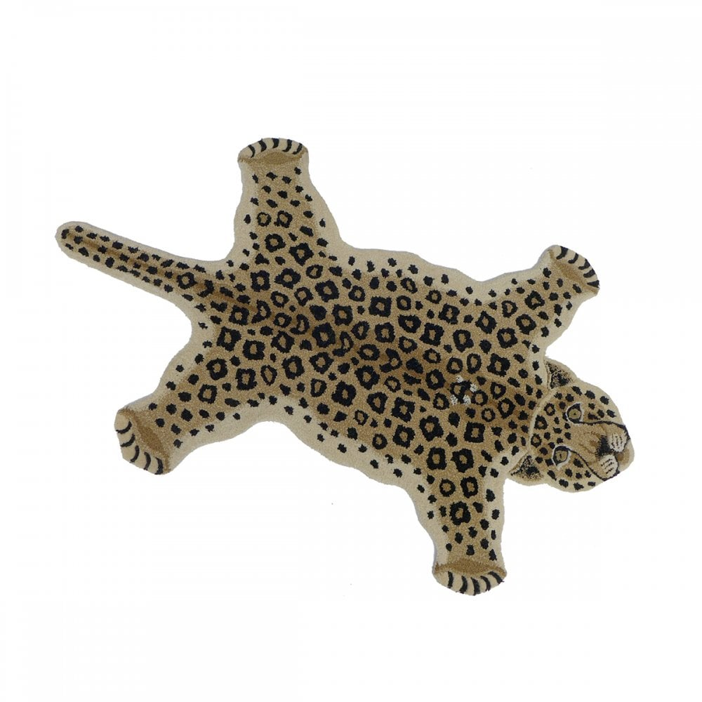 Looney Leopard Rug- Cotswold trading £149