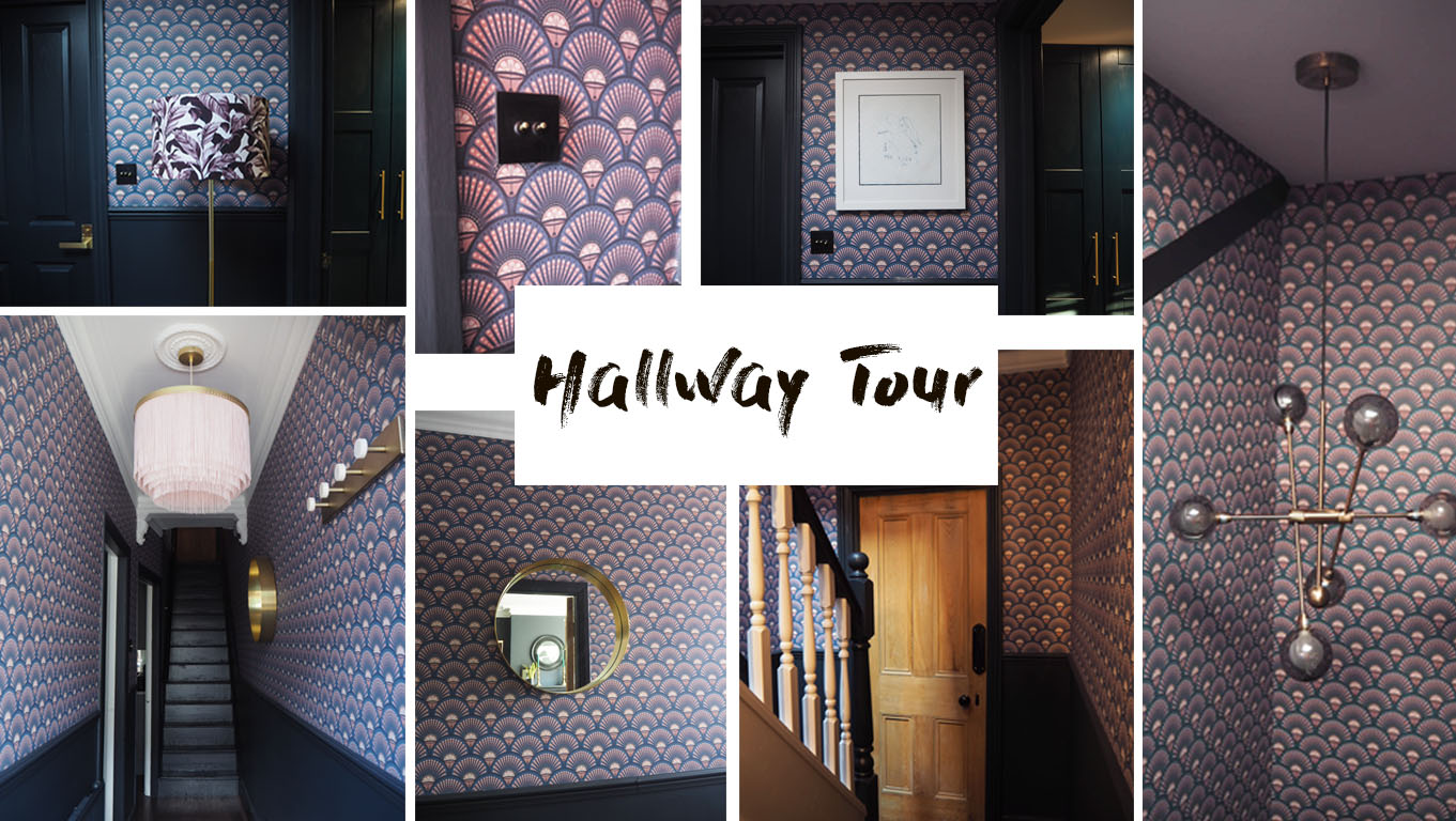 hallway tour with divine savages