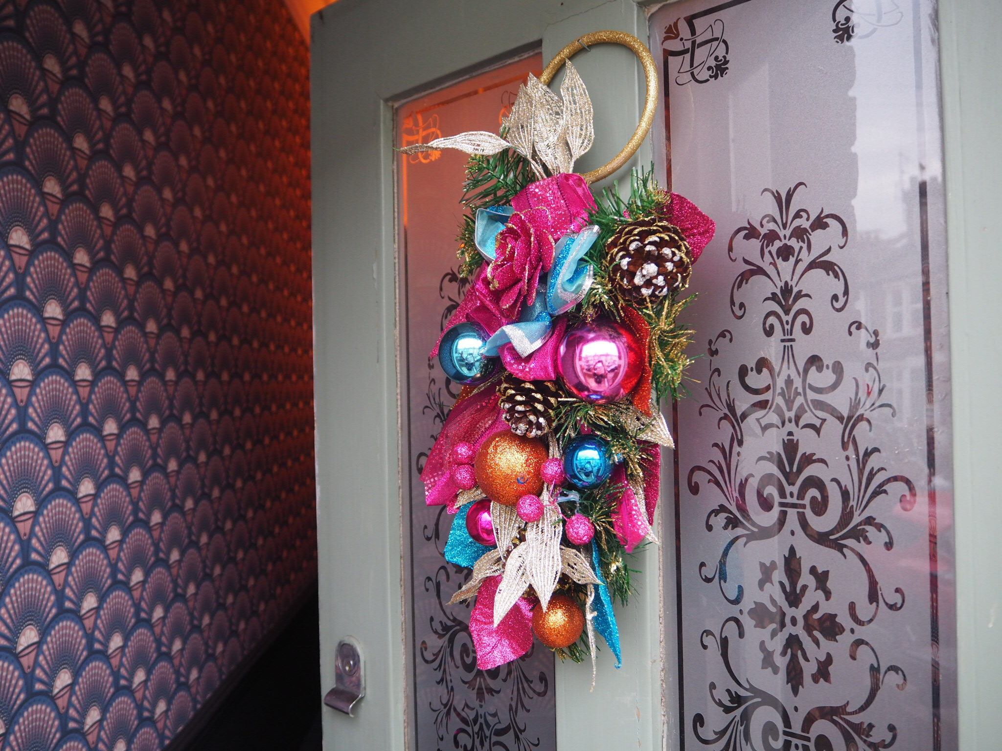 Circus Christmas Room Decoration Collection -  Door wreath   - From Christmas Time UK £30.