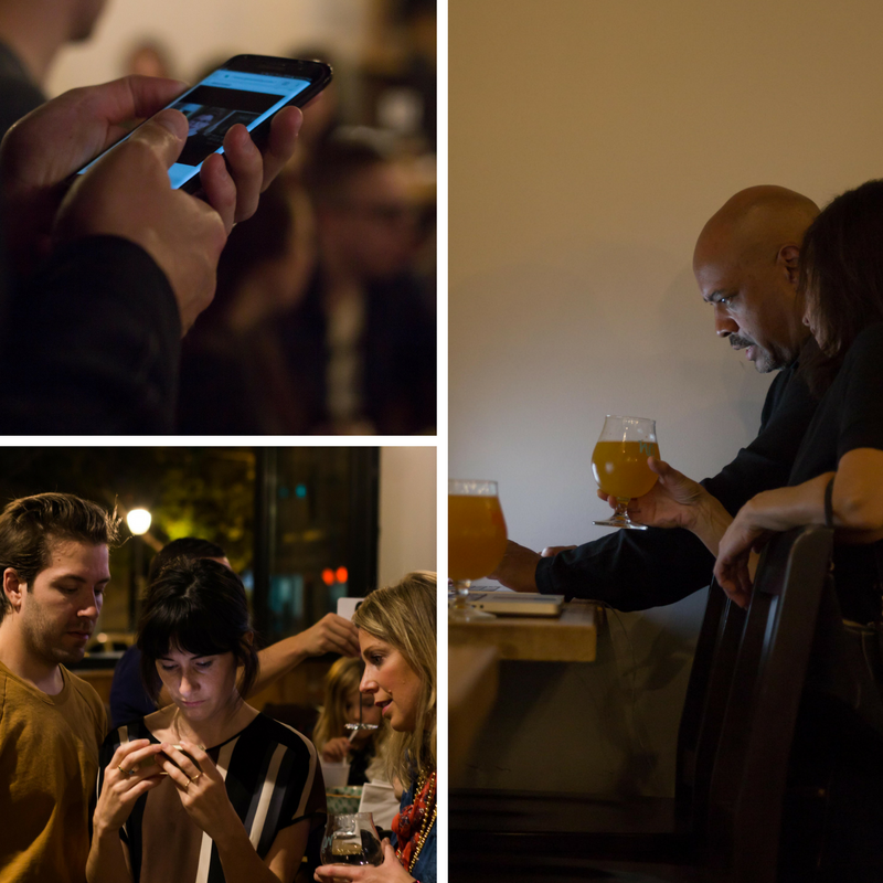 Scene's from A Brilliant Exchange's crowdfunding launch party that took place earlier this month.