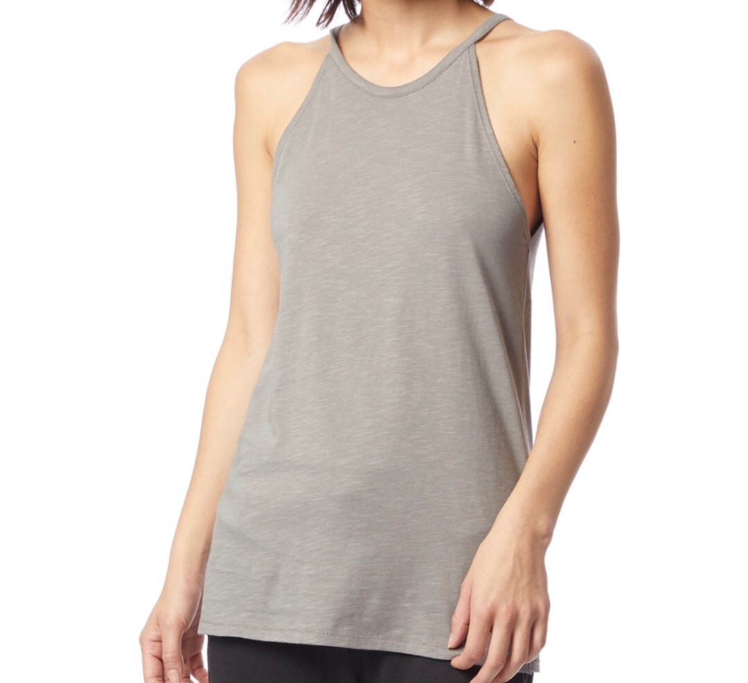 Alternative Apparel - Alternative Apparel is amazing for basics. If you didn't know, now u do... go check them out!! Also, this tank if u tucked it all the way into high rise jeans would be sooooo good. They should've done that for the stock photo...