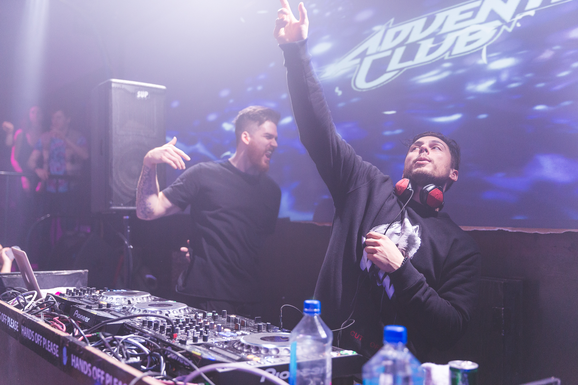 Adventure Club bringing the heat. Photo by Justin Hill Photography