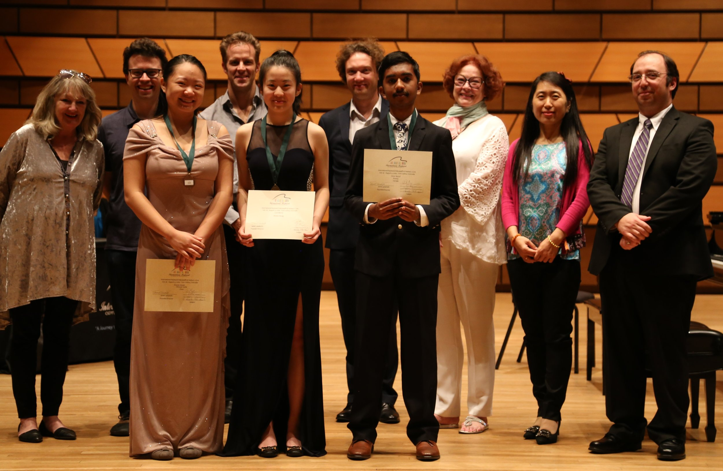 Single Movement Concerto Winners and Judges