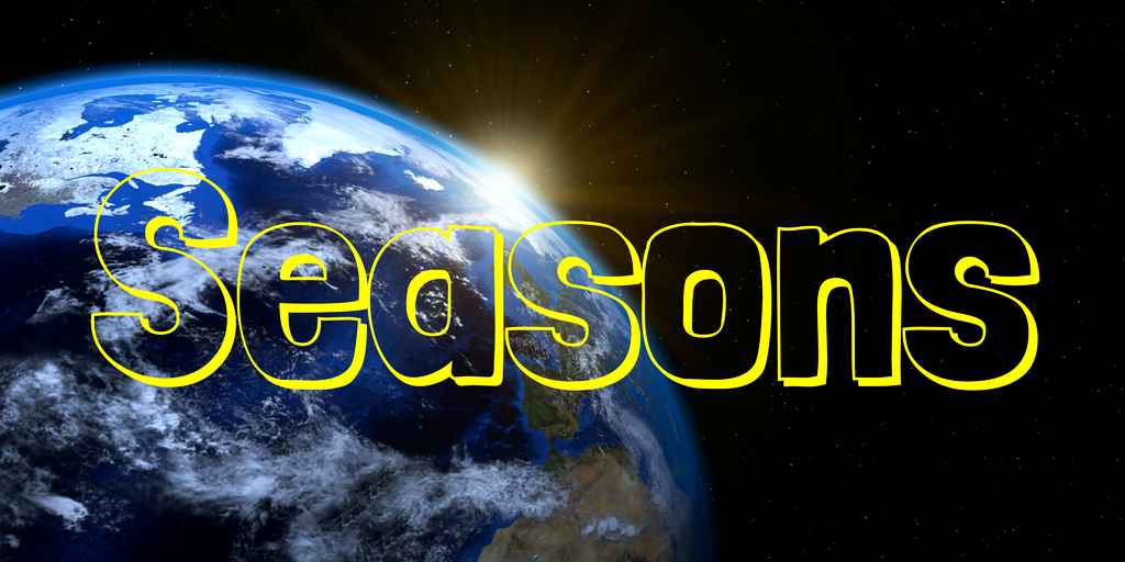 Standards Alignment - SAST3. b This formative will utilize student's conceptual understanding of what causes seasons. Research in Astronomy Education shows that many students strongly hold misconcpetions regarding seasons.