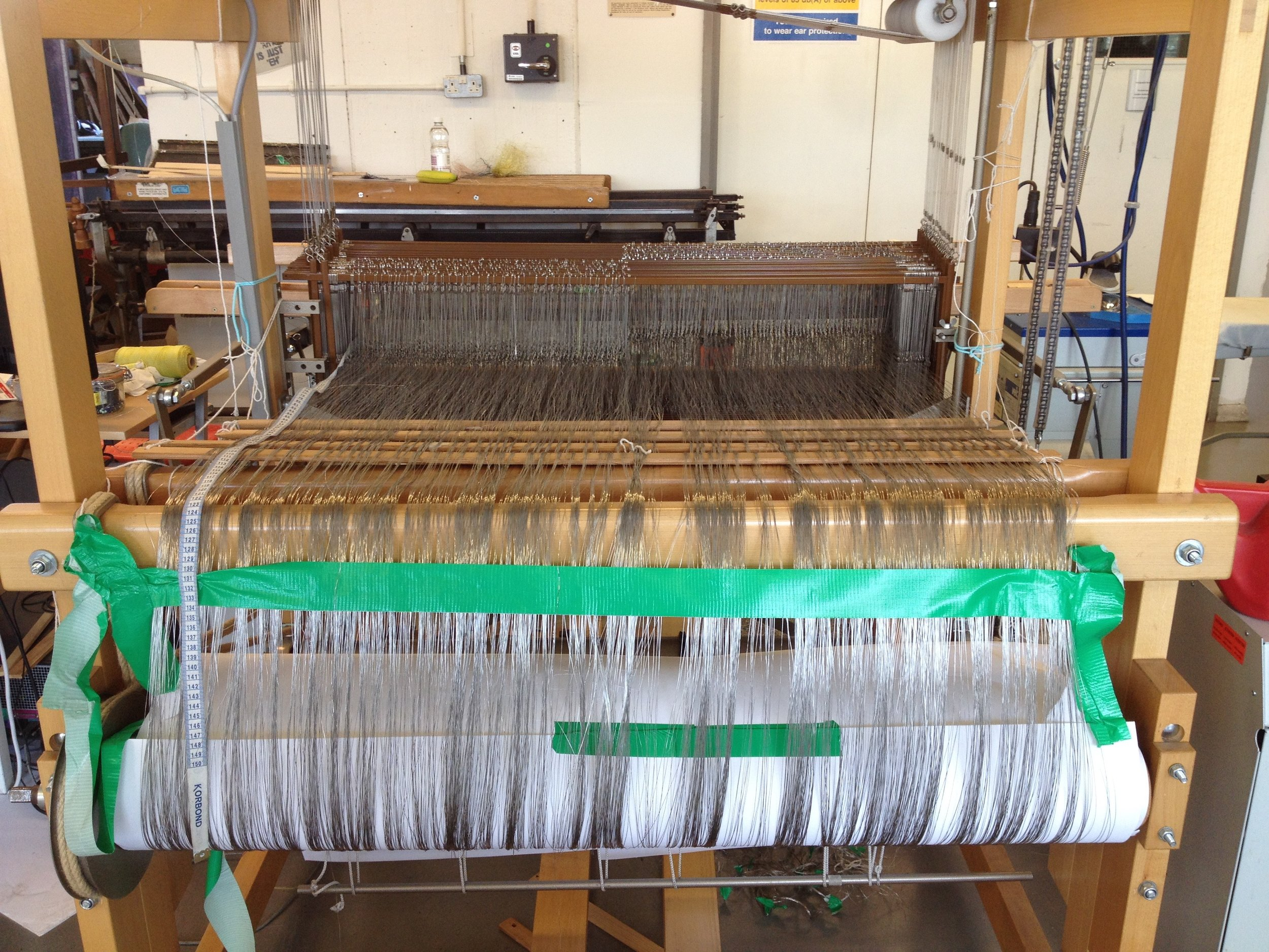 Back of the loom