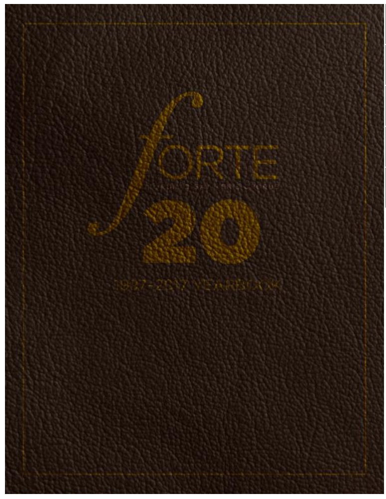 Read all about our history in the Forte 20th Anniversary Yearbook!