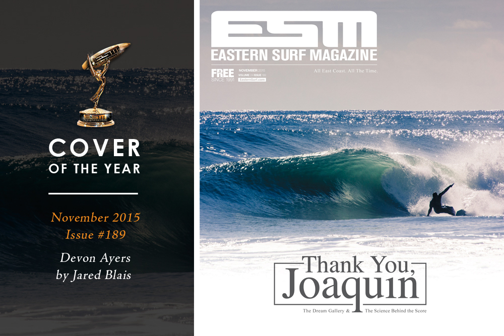 Eastern Surf Magazine Cover of the Year