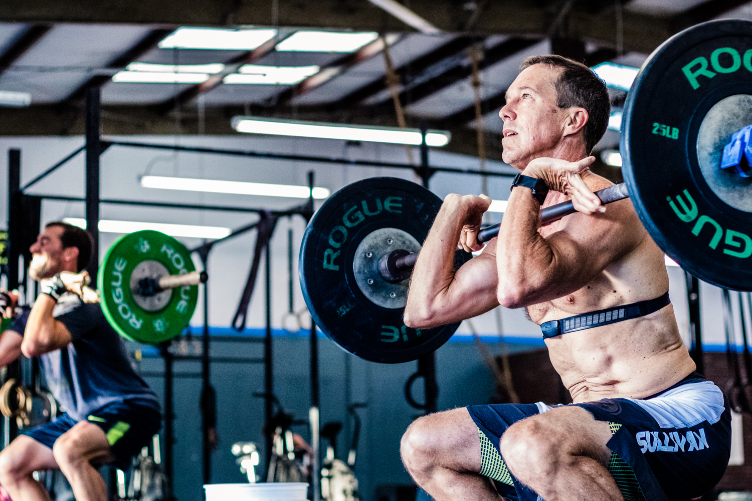 Chuck Sullivan at  CrossFit Vero Beach