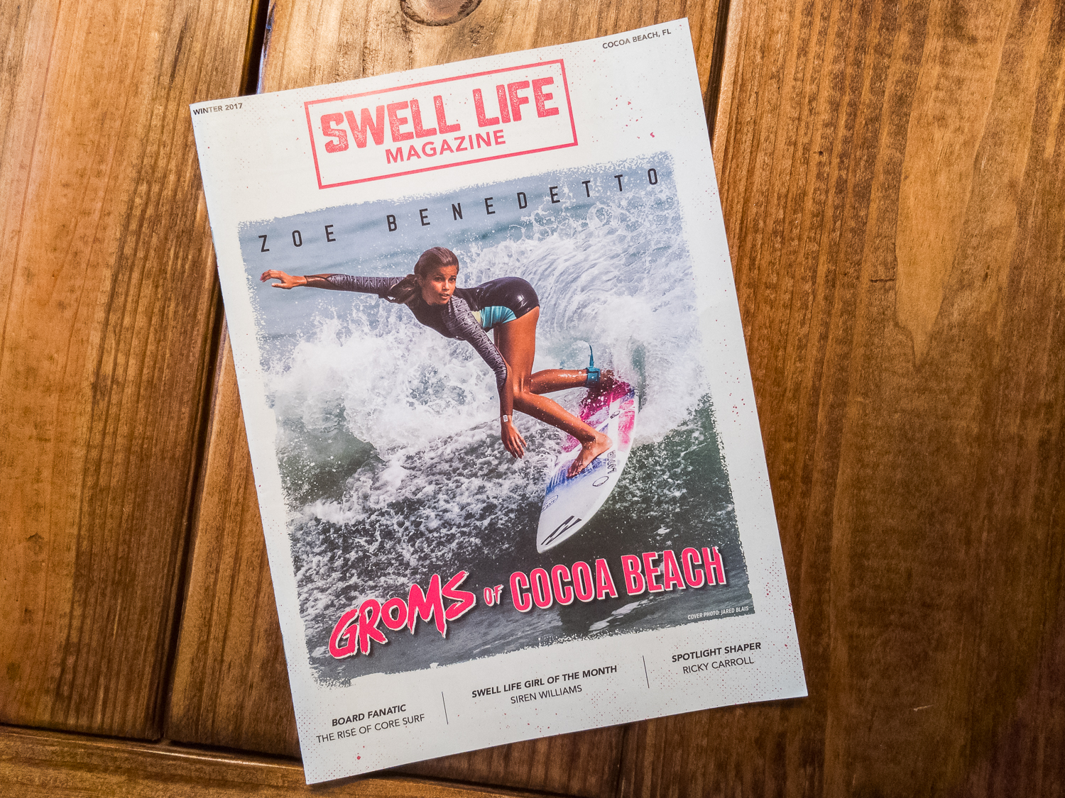 Swell Life Magazine  Cover Shot - January 2017