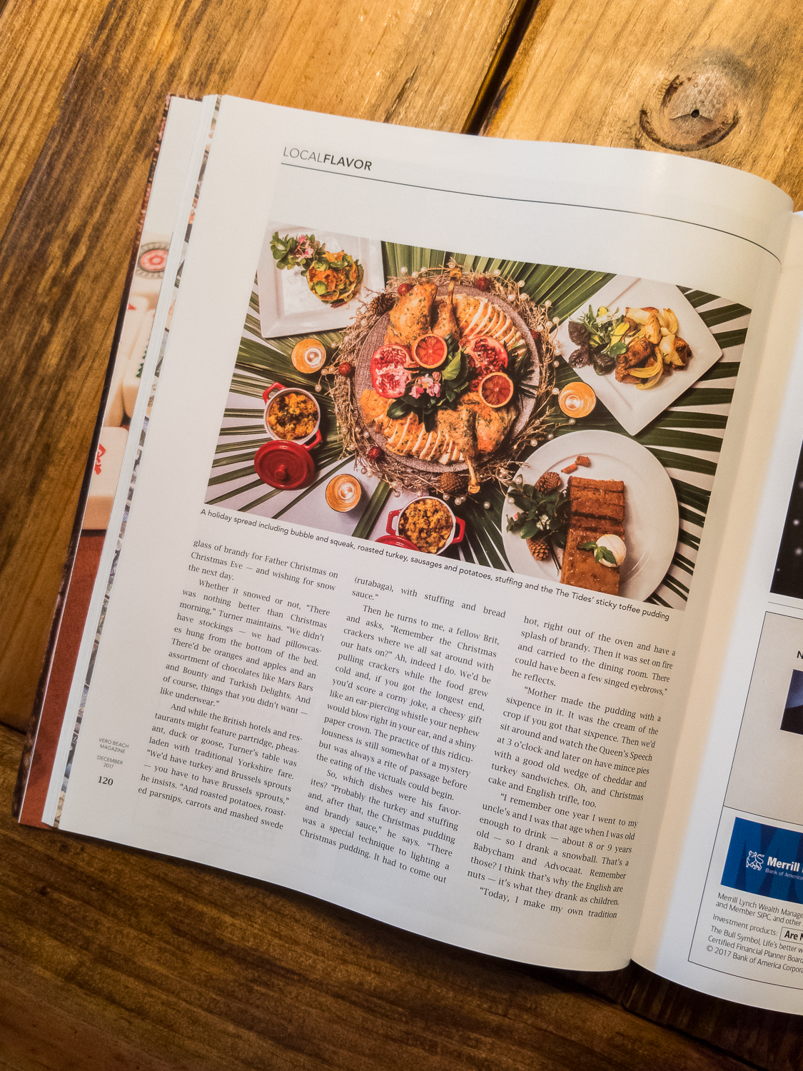 Local Flavor at The Tides - December 2017 Issue