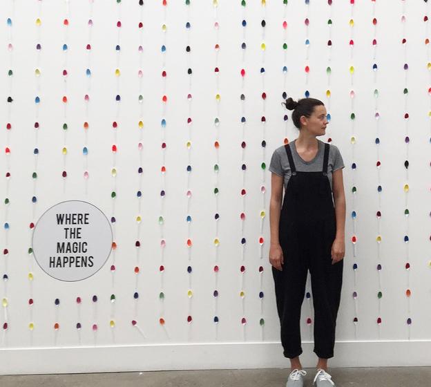 Textile designer Joanna Fowles.