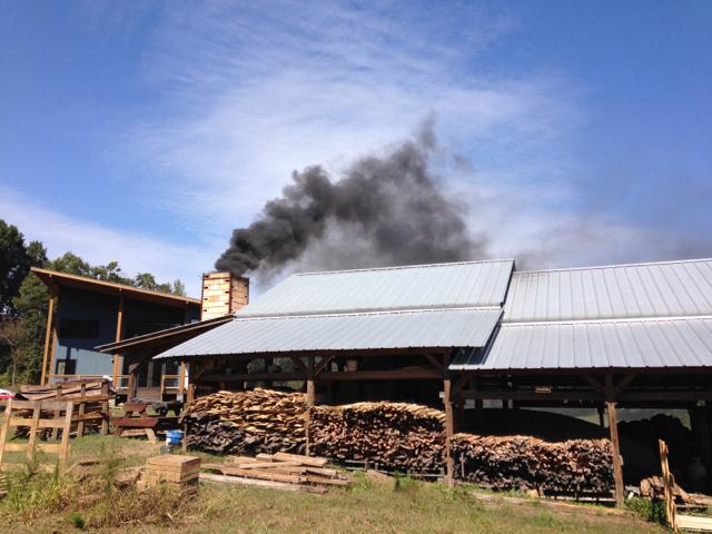 Wood firing