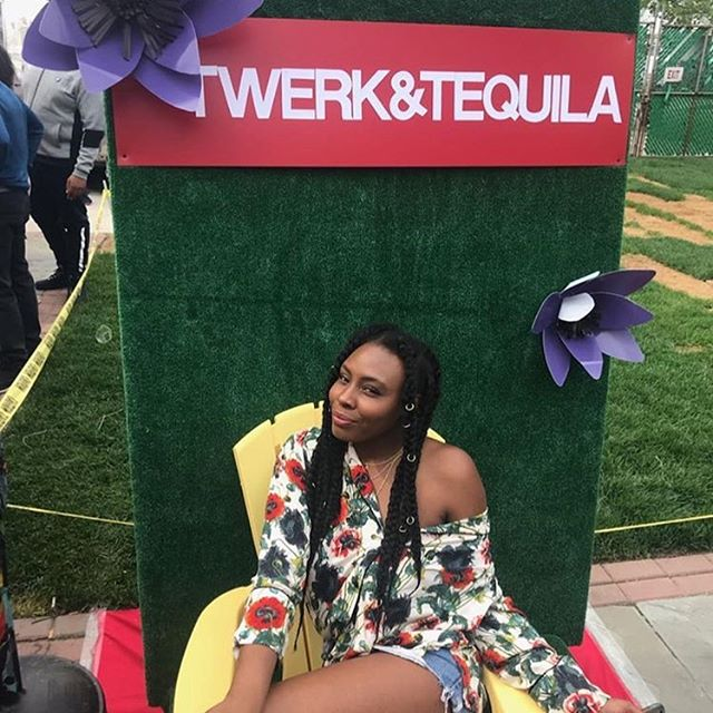 Last year on Cinco De Mayo @connectwithlo threw her first @twerkxtequila . She wanted some custom decor because she's all about experiences so I told her I had an idea I wanted to try. I created my first back drop this time last year with materials I found at @artsandscraps. A year later and tons of event practice later, I'm very excited for the activation we have for you today. See you @elclubdetroit at 1