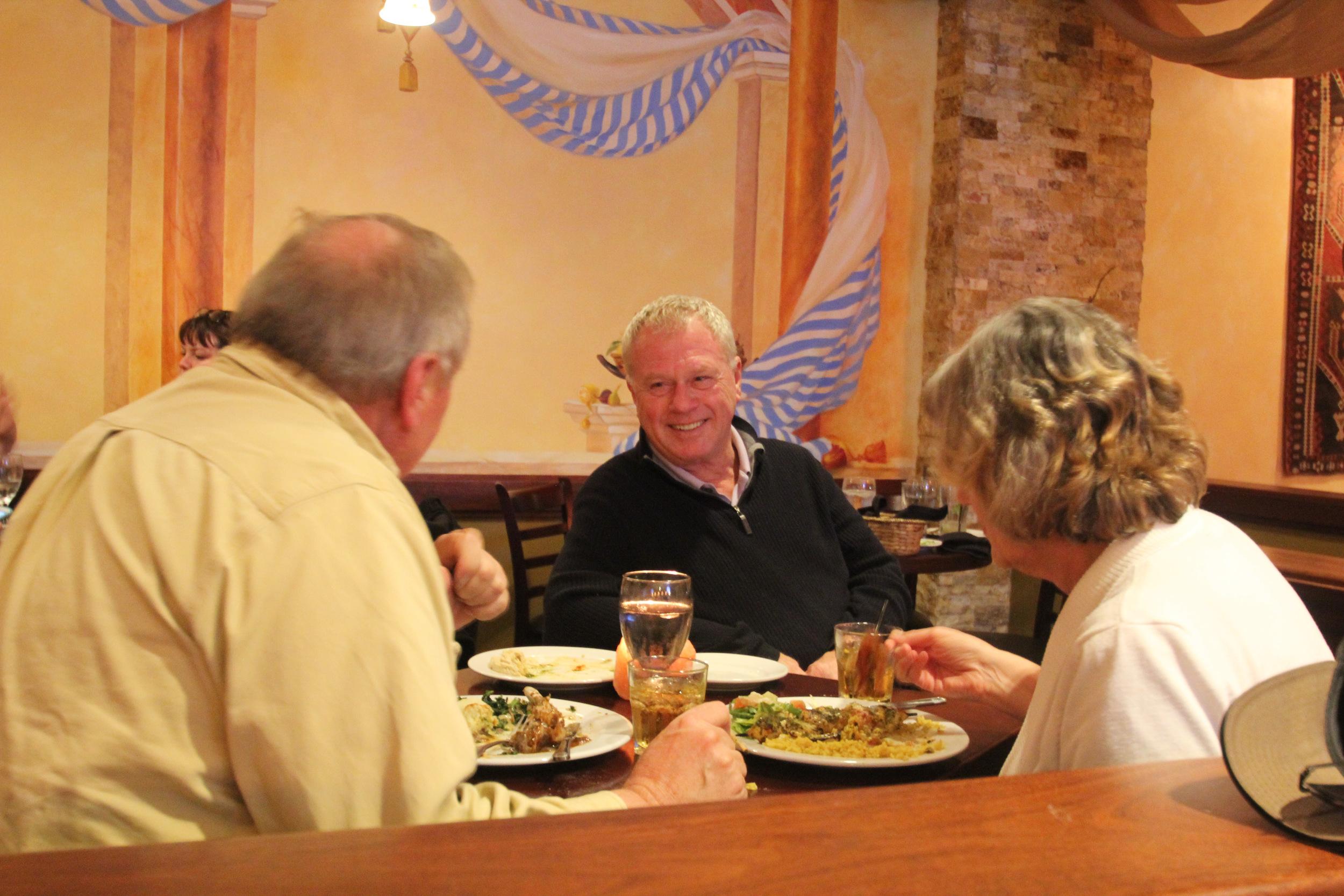 Our regulars enjoying their meal