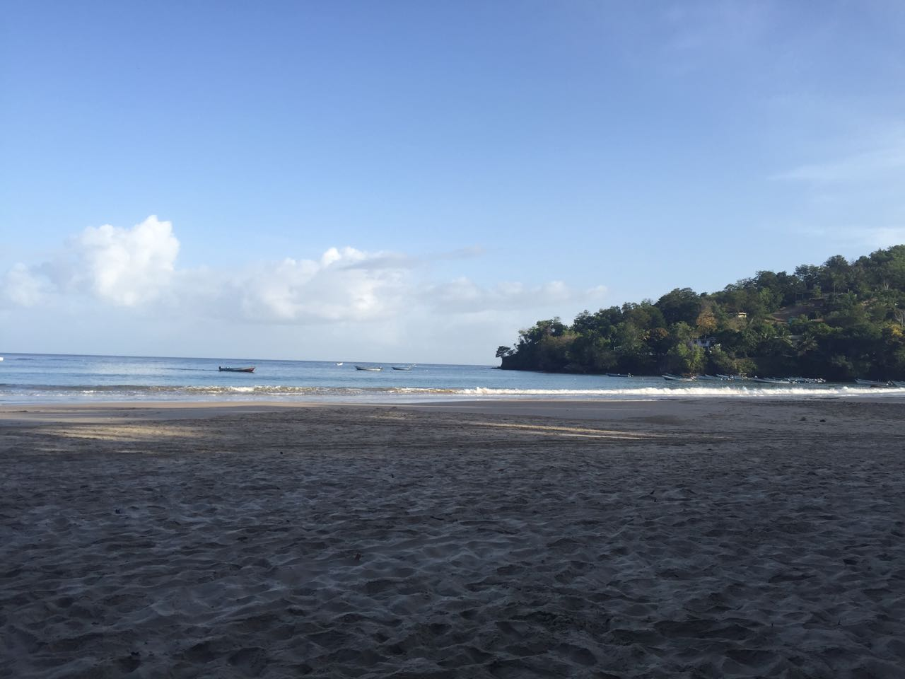Early morning Las Cuevas.