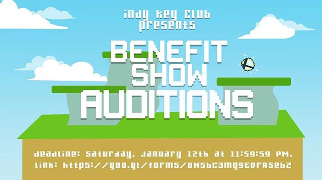 Audition for IHS' first ever benefit show!  For the event to be successful, audition and show off your talents :)) Link in bio!