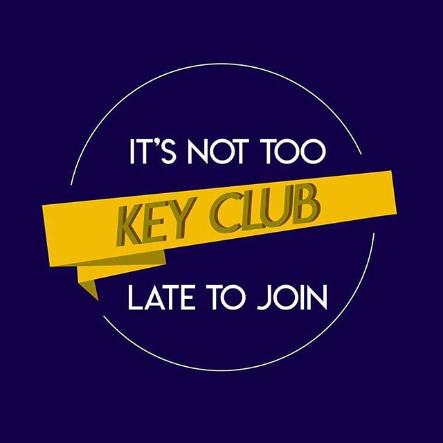 Haven't become a paid dues member yet? DON'T WORRY! It's not too late. As a paid dues member, not only do you get so many benefits, but experience favorable memories and join a loving ohana.  Join Key Club, every Tuesday lunch at A-COMMONS!