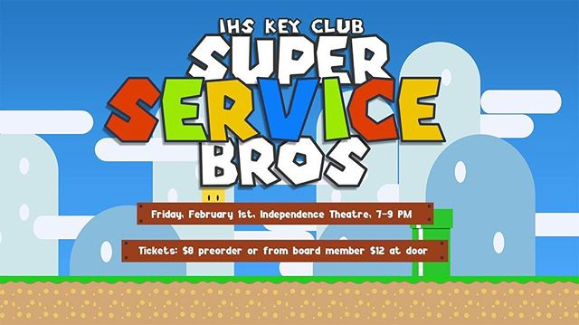 Come out to our benefit show on Feb. 1! Buy tickets from any leadership member for $8! See you there :)