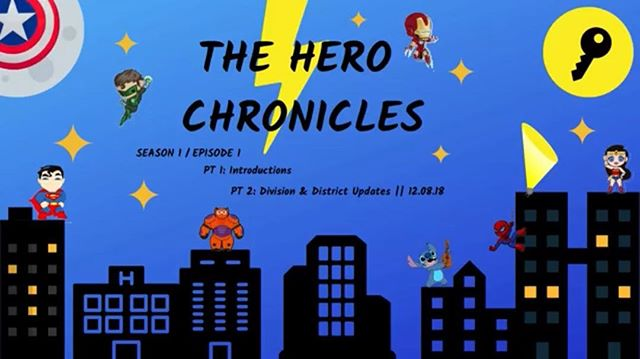 Division 12 East started their youtube channel, and the first episode of the first season of the Hero Chronicles is out!!! CLICK THE VIDEO for updates on the division and district!!! https://m.youtube.com/watch?v=ABMgvIT6VHI&t=11s&fbclid=IwAR0xVqxHYlumhoo5g5NHs-RZX0FSB2goc8C4wEZSbAE_NLQYhlJ22wAsZwg