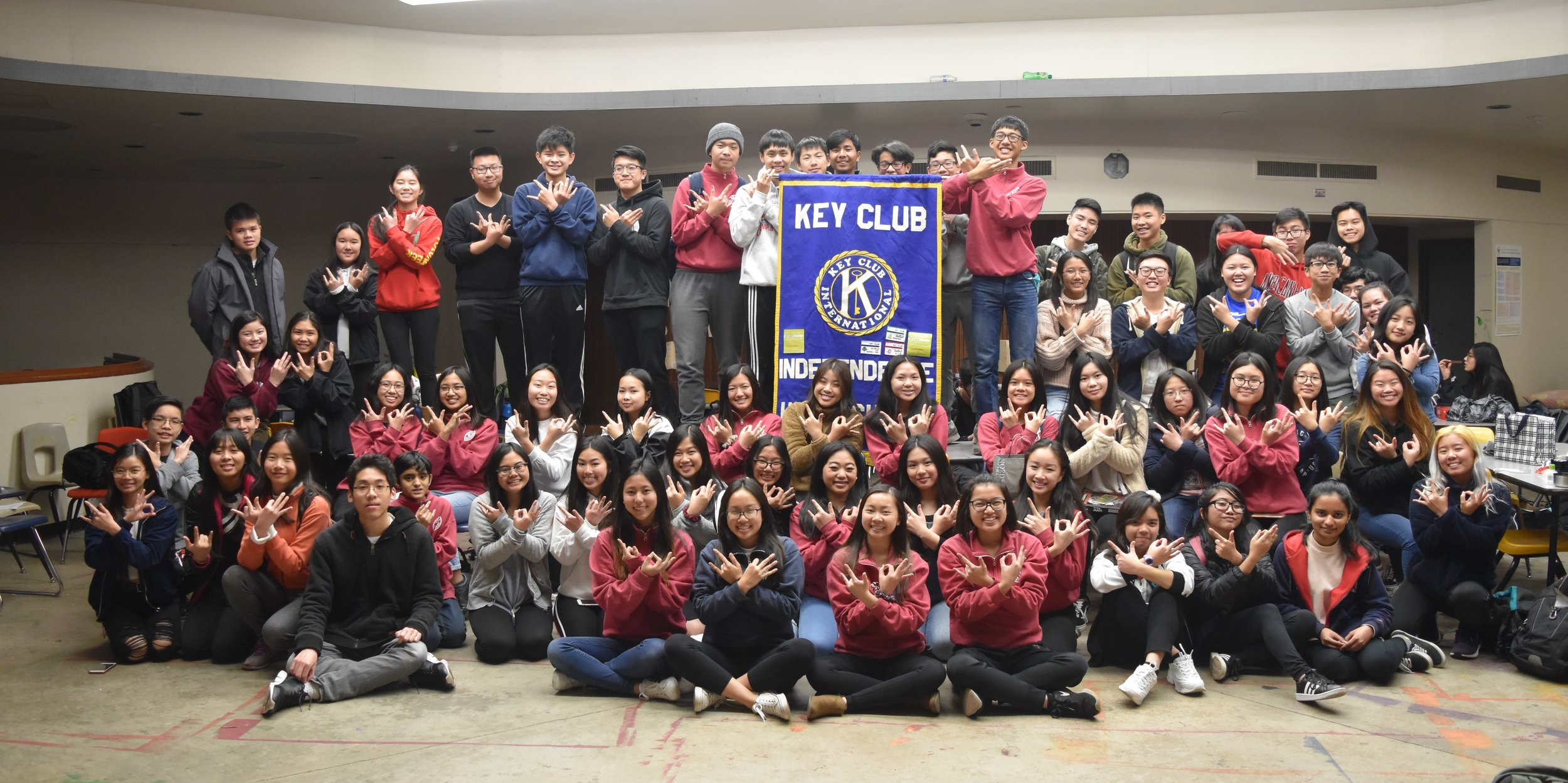 """Caring.. our way of life - """"Contrary to popular belief we are not a club that makes keys. Key Club is the oldest and largest service program for high school students. This is the best place to make new friends and help people in need. What makes Key Club so successful is the fact that it is a student-led organization that teaches leadership through helping others. Through the support of the Kiwanis International family, Key Club members build themselves as they build their schools and communities."""""""