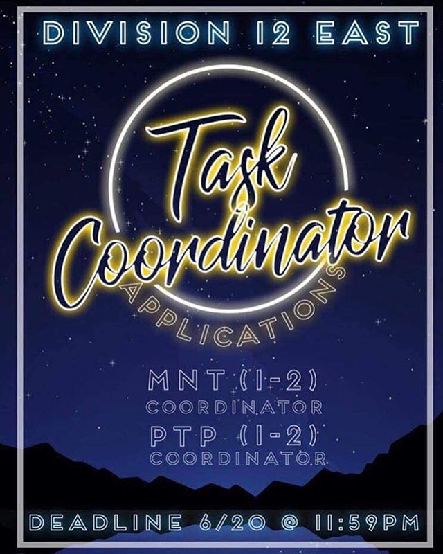 Hey heroes!! 💙💛 As task coordinator applications have released it is also time for you to release your inner club! As being a task coordinator will open you up to a new experience as a member of the dlt.. it will also bring your journey as a key club member to new heights! DM this acount for the link for more info(dont be SHY...just APPLY!! 🤩🙈🥵