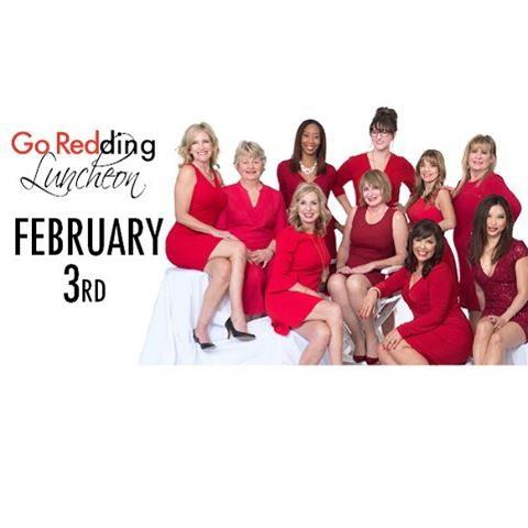 We can't wait to see the hundreds of business women and community members tomorrow at the Go Redding Luncheon again! Gild Beauty Bar will be there talking waxing, lashes, makeup, and skincare, and we will be putting red lipstick on all of you beauties for the second year in a row!  #GoRedding