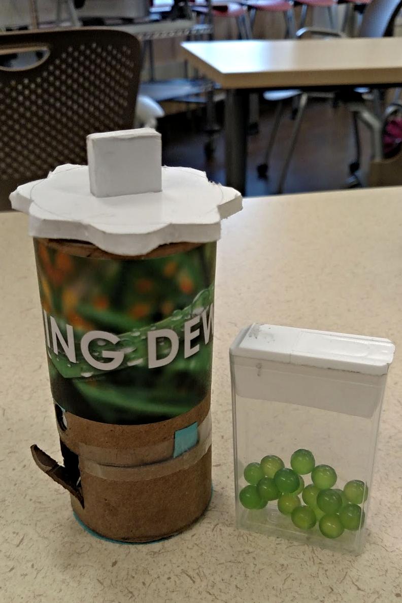 morning dew dispenser
